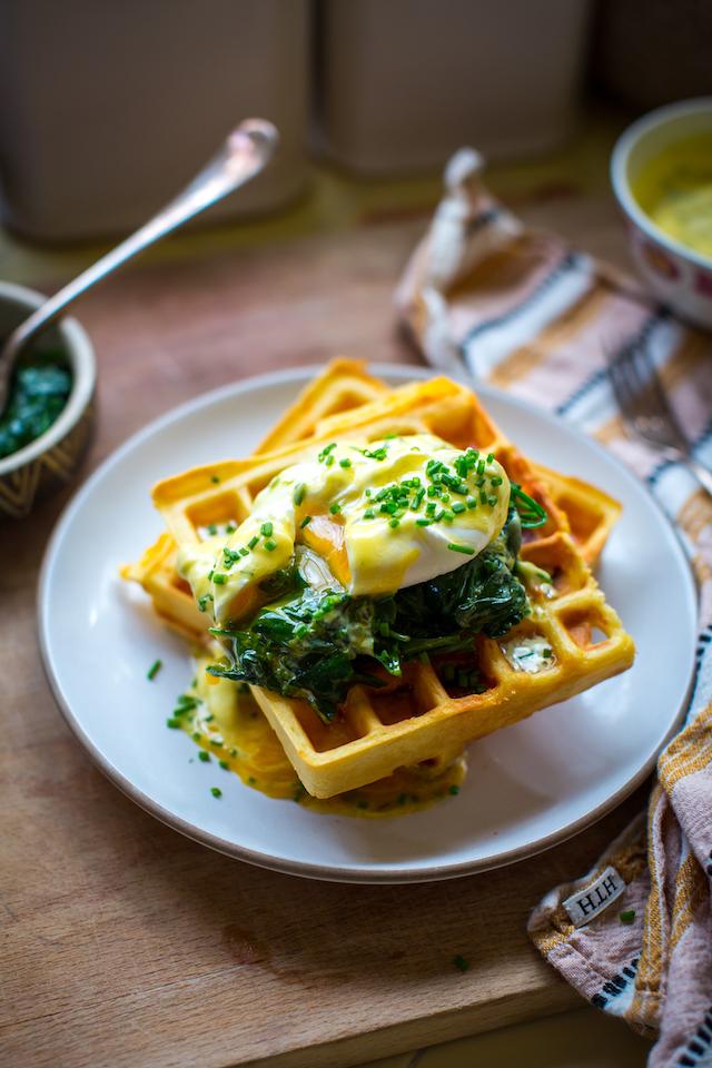 Leftover Ham & Cheese Waffles | DonalSkehan.com