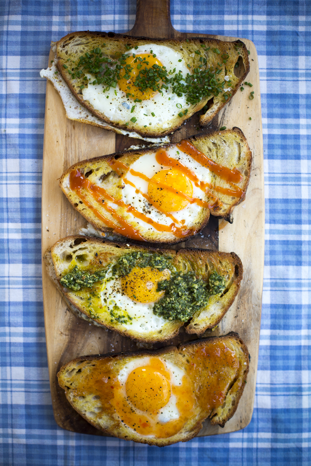 Hole in the bread Eggs | DonalSkehan.com, A childhood classic!