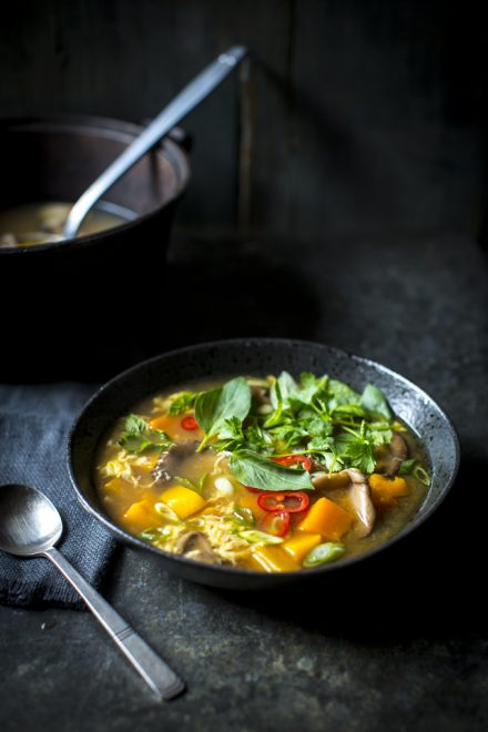 Hot & Sour Soup | DonalSkehan.com, Not your average vegetable soup...