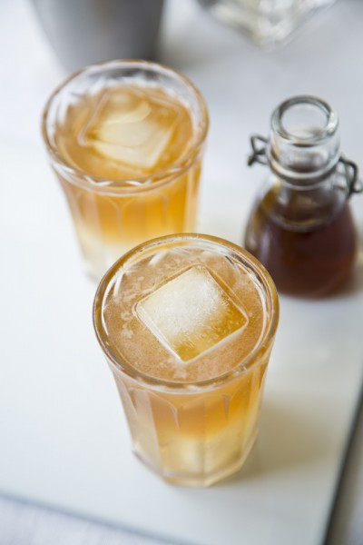 Ginger Spiced Apple Cocktail