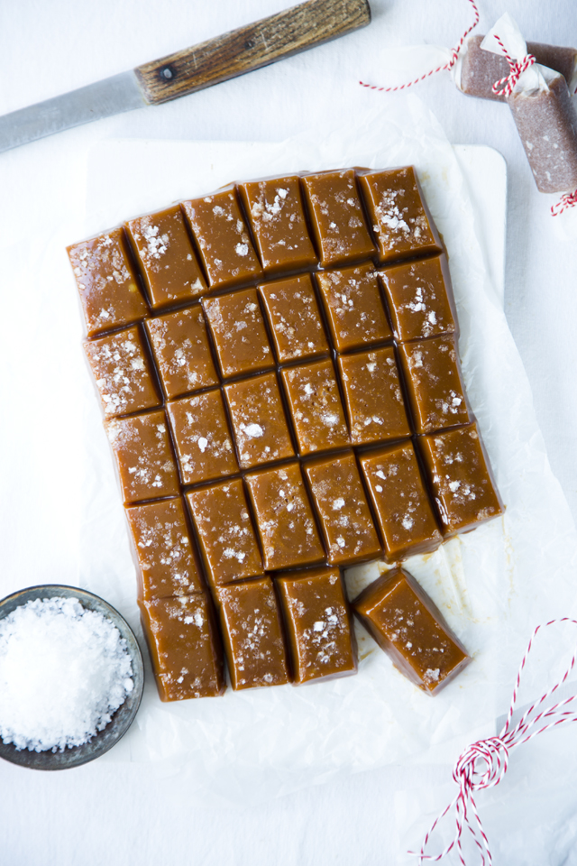 Irish Atlantic Sea Salt Caramels   DonalSkehan.com, Soft and chewy, the ideal gift or afternoon treat!