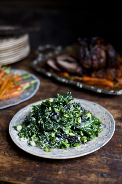 Irish Creamed Kale
