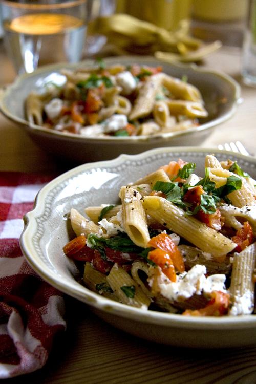Goat Cheese And Sun-Dried Tomato Pasta Recipes — Dishmaps