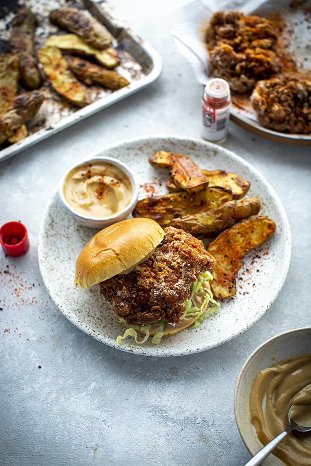 Japanese Fried Chicken Karaage Bun | DonalSkehan.com