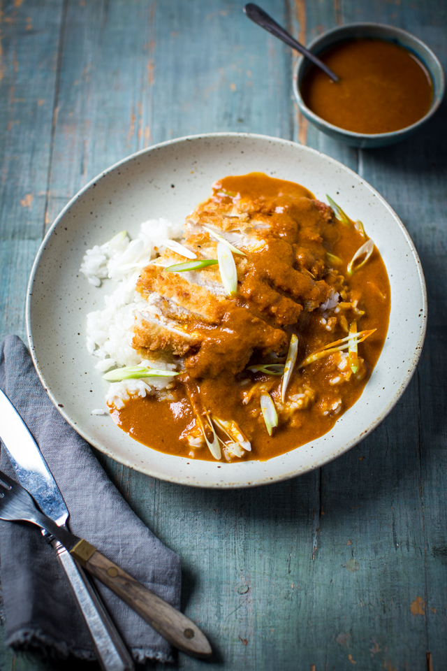 Chicken Katsu Curry | DonalSkehan.com, Take on the takeaway with this simple Japanese chicken curry.