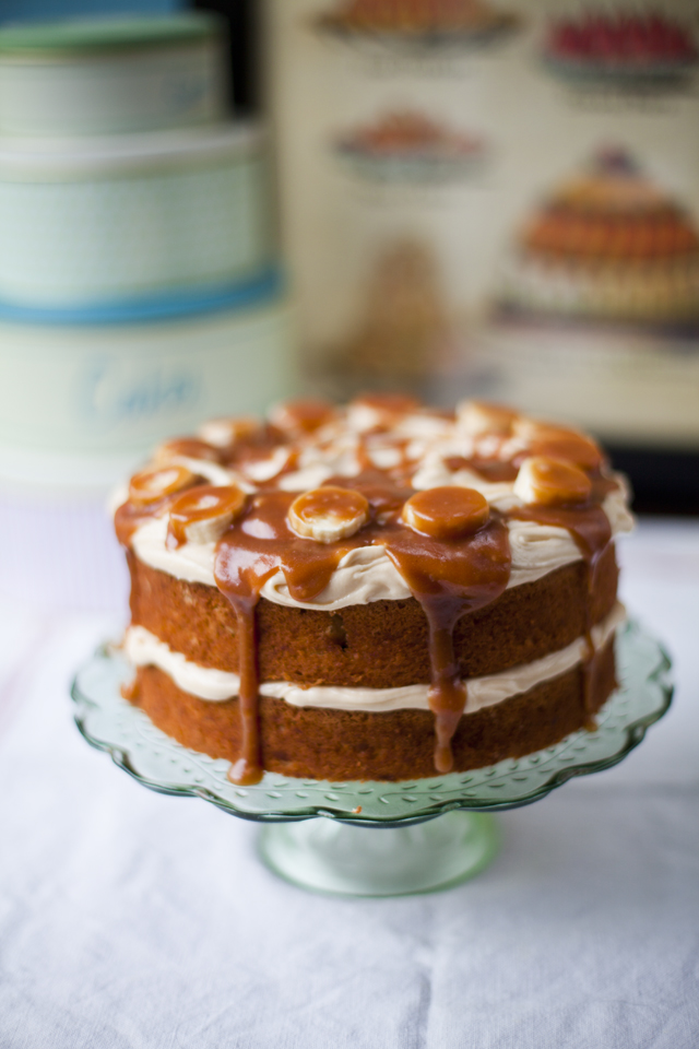 Banoffee Cake Donalskehan Com Perfect As A Birthday Or Celebration