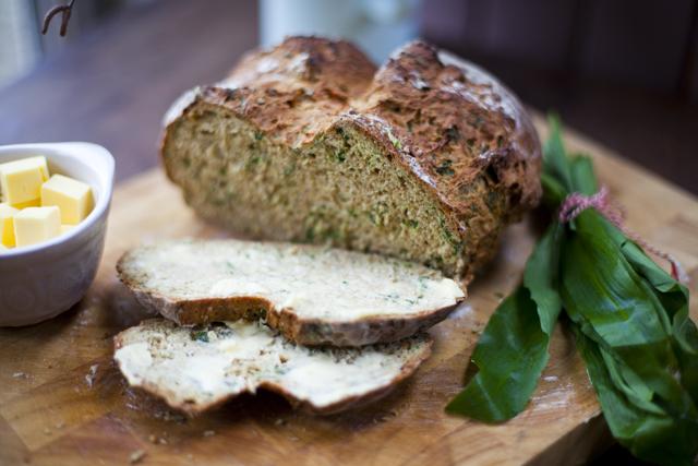Wild Garlic Irish Soda Bread | DonalSkehan.com | HomeCooked Kitchen ...
