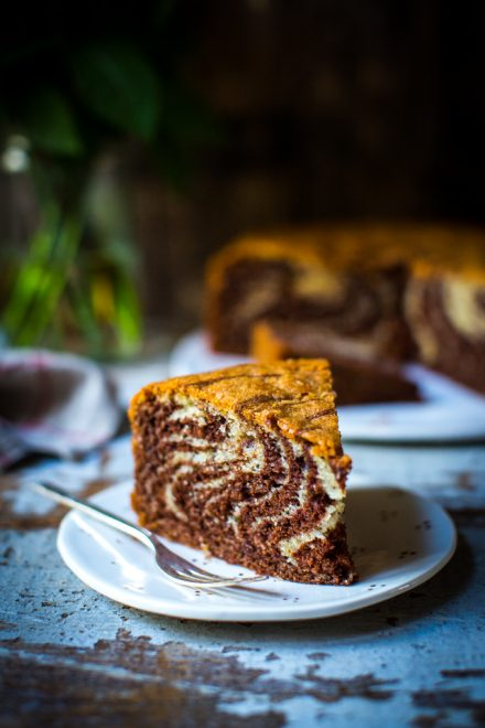 Zebra Cake   DonalSkehan.com, A chocolate and vanilla cake with a difference.