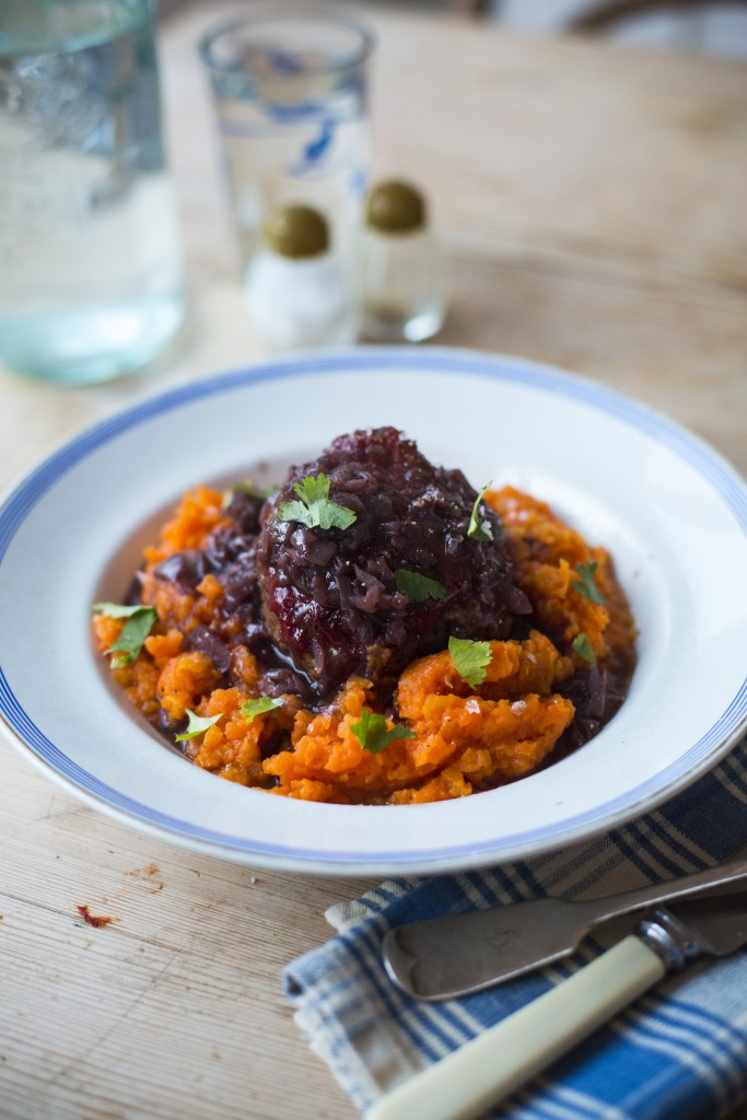 Mini meat loaves with carrot mash & Onion Gravy | DonalSkehan.com, Perfect classic comfort food to feed the crowd!