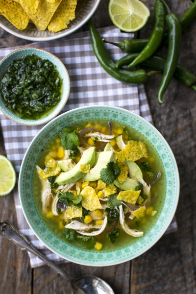 Mexican Style Chicken & Sweetcorn Stew