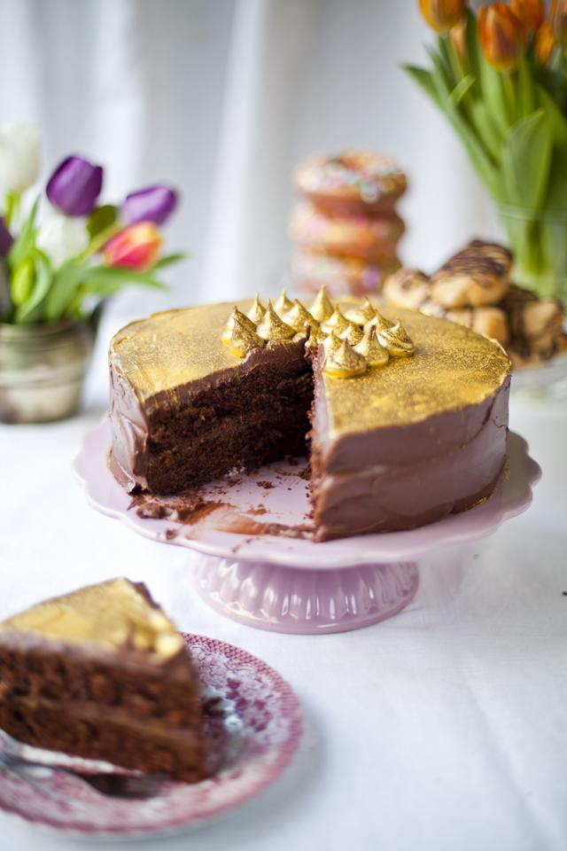 Millionaire Chocolate Cake_5