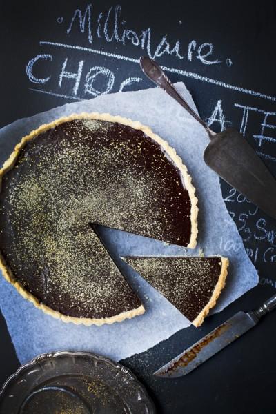 Millionaire Chocolate Ganache Tart