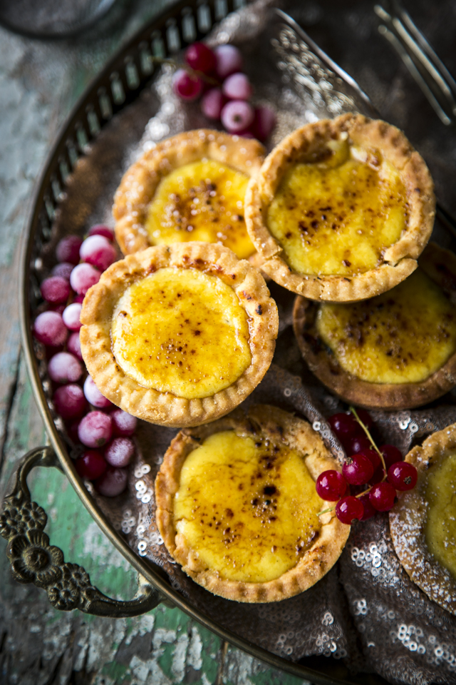 Mince Pie & Custard Tarts | DonalSkehan.com, A luxurious twist on a festive classic.