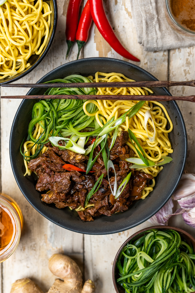 Slow-Cooked Mongolian Beef | DonalSkehan.com, Easy and delicious when on the run!