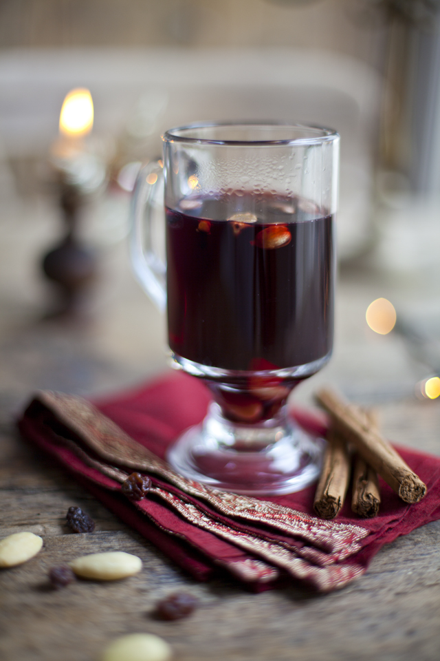 Glögg (Swedish Mulled Wine) | DonalSkehan.com, Delicious christmas drink!