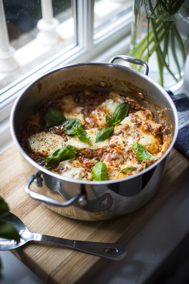 One Pan Lasagne | DonalSkehan.com, All the lasagne greatness with none of the fuss!