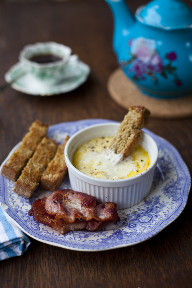 Oeufs Cocotte | DonalSkehan.com, Also known as baked eggs, this is perfect at the weekend.