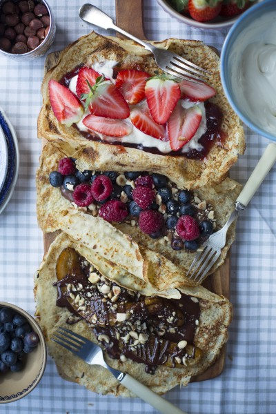 Pancakes Three Ways
