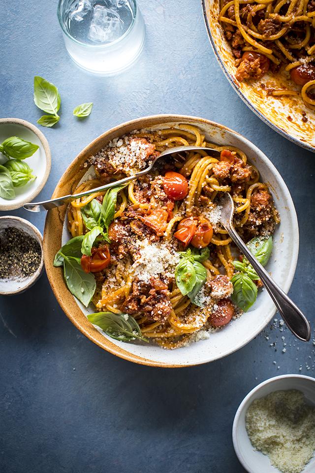 Spicy Pantry Pasta | DonalSkehan.com