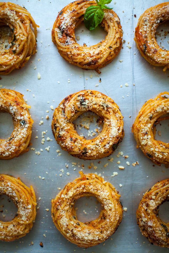 Pasta Donuts | DonalSkehan.com, Kids (and adults) will go crazy for these fun pasta donuts!