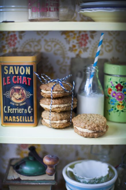 Peanut Butter Sandwich Cookies | DonalSkehan.com, If you love peanut butter, these are the perfect cookies for you!