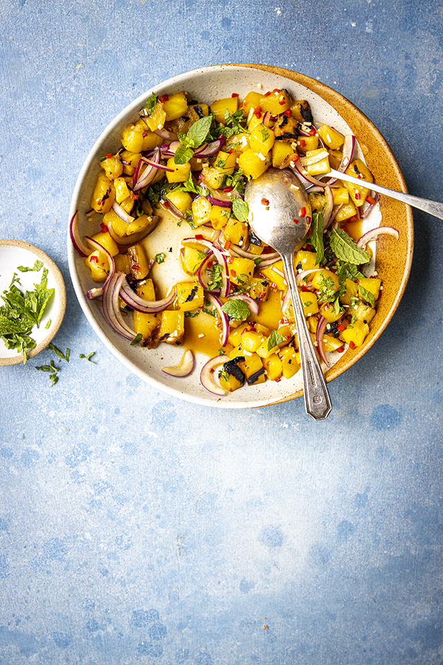 Pineapple Chilli Mint Salsa   DonalSkehan.com