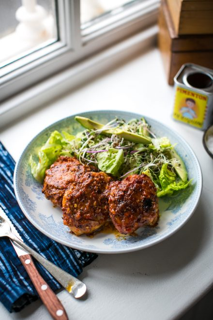 Piri Piri Chicken | DonalSkehan.com, A spicy, smokey and seriously delicious supper!