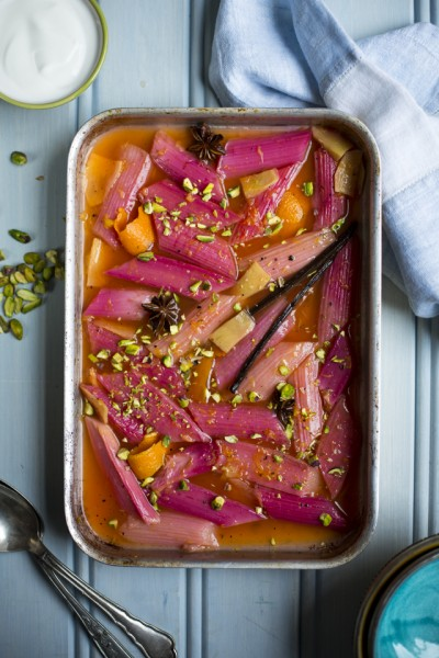 Slow-Roasted Rhubarb