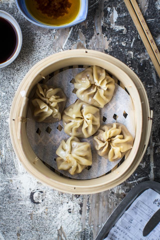 Pork Dim Sum | DonalSkehan.com, Delicious little savoury pork parcels.
