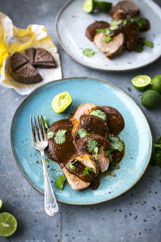 Pork Fillet Mole | DonalSkehan.com, Pork fillet smothered in a mind blowing Mexican sauce that has to be tasted to be believed!