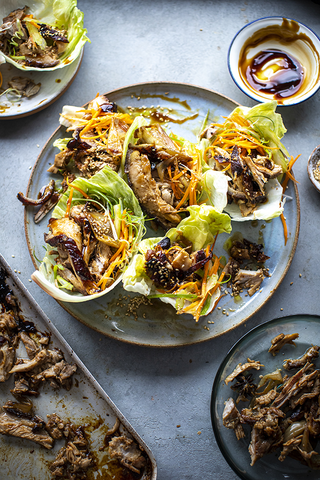 Pork Belly 'Yuk Sung' Lettuce Wraps | DonalSkehan.com