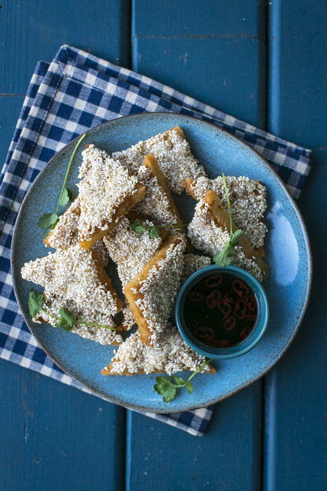 Prawn & Sesame Toasts | DonalSkehan.com, Because a Chinese feast isn't complete without Shrimp Toast!