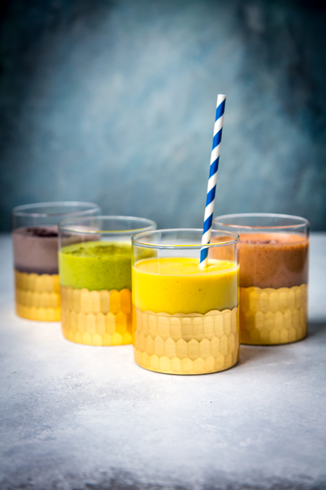 Best 4 Breakfast Protein Smoothies | DonalSkehan.com, These smoothies will help kickstart any day!