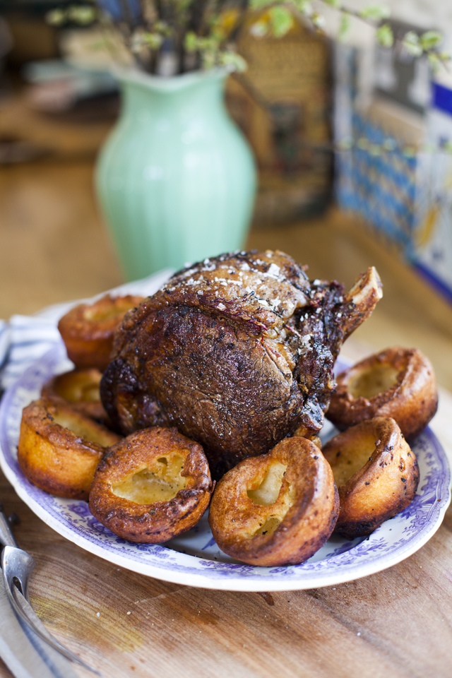 Roast Beef with Batter Pudding   DonalSkehan.com, A fantastic Sunday lunch option!