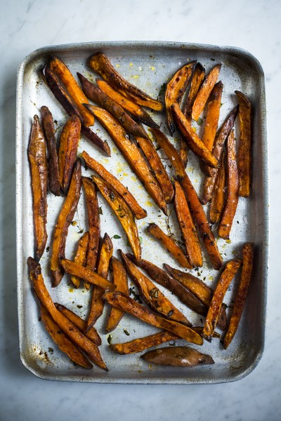 Herby Sweet Potato Chips
