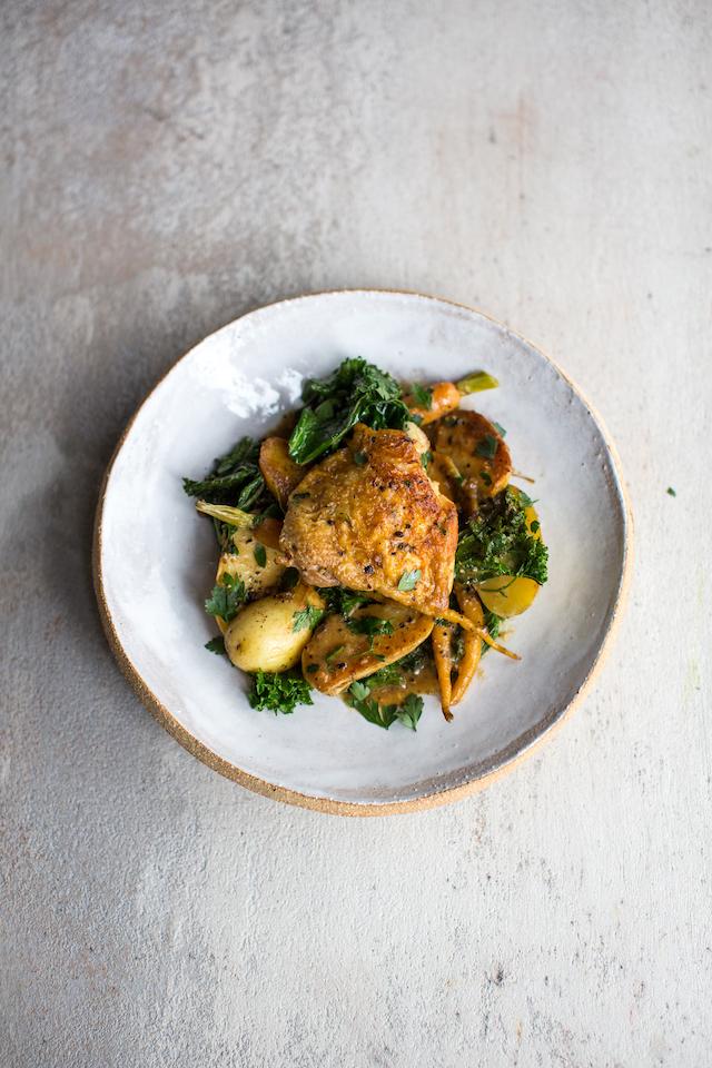 'Roast' Chicken Dinner | DonalSkehan.com