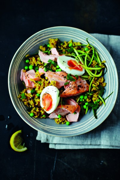 Tom's Kedgeree with Salmon