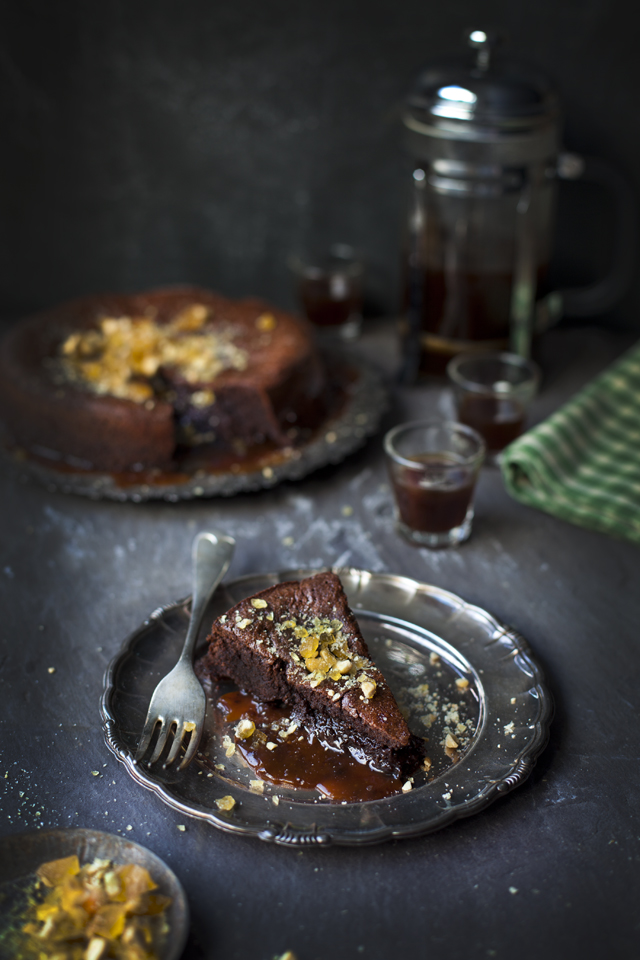 Salted Peanut Caramel Mud Pie | DonalSkehan.com, Decadently delicious dessert for a special occasion!
