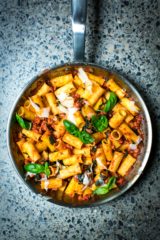 Pork & Fennel Ragu | DonalSkehan.com, My 30-minute version of the Italian classic.