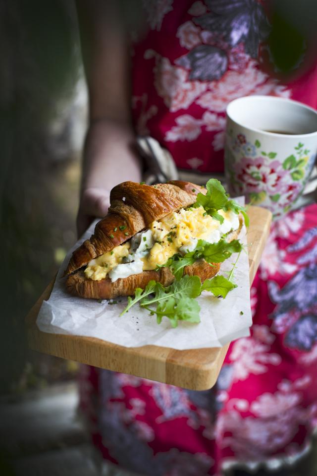 Scrambled Egg Croissant