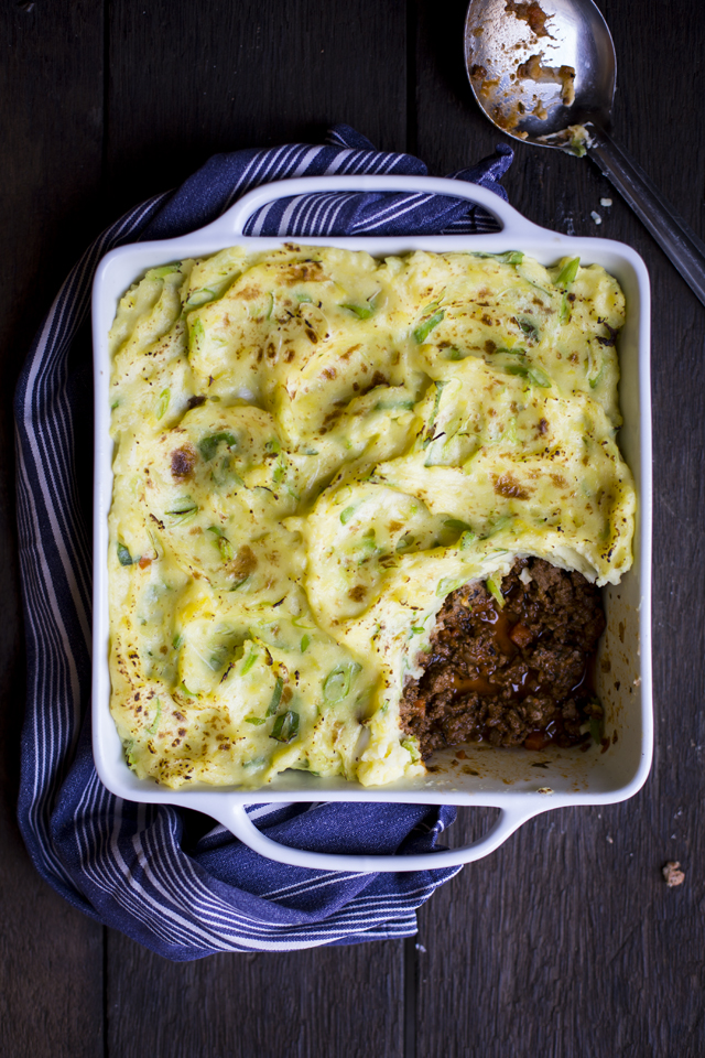 Shepherd's Pie with Champ Mash | DonalSkehan.com, A tasty classic with a new Irish twist!