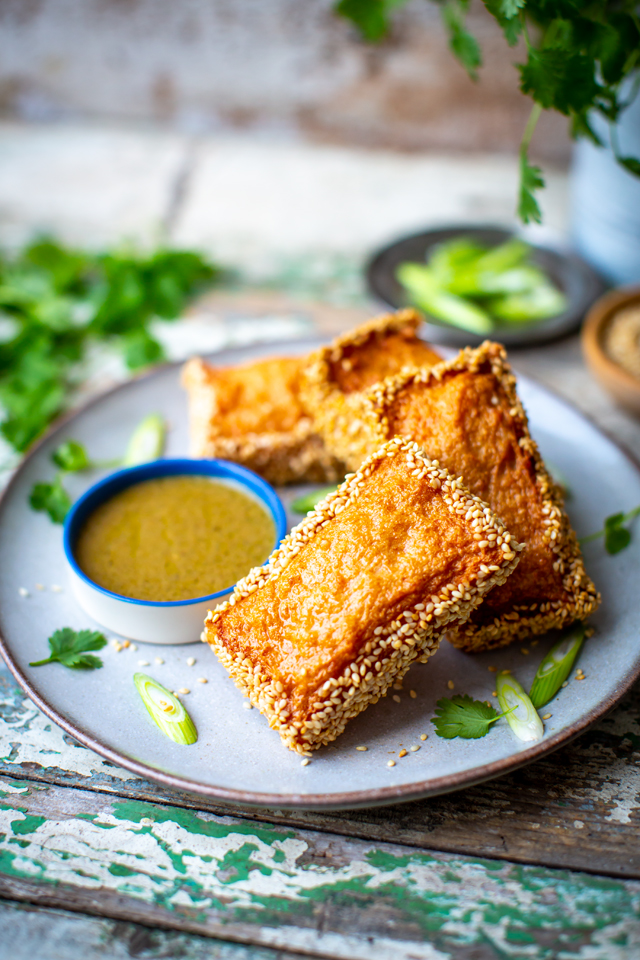 Shrimp Toast | DonalSkehan.com, Uniquely simple with loads of flavour!