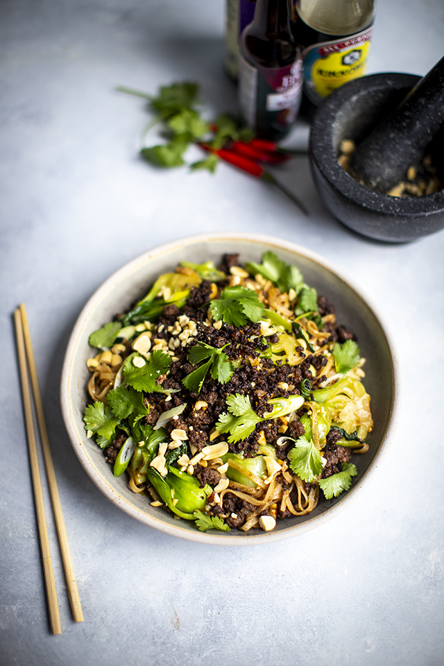 Sichuan Spiced Late Night Noodles | DonalSkehan.com