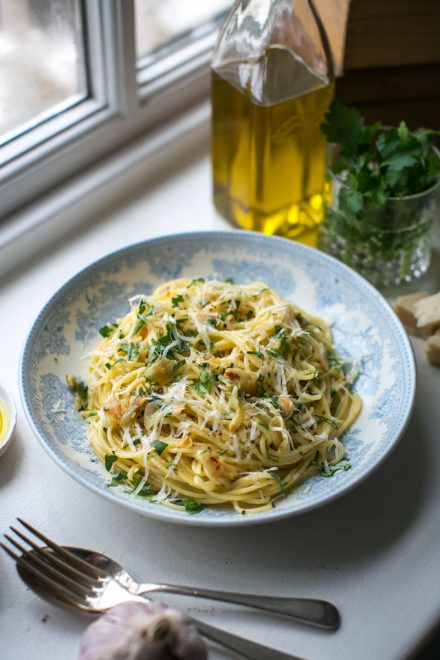 Spaghetti Aglio & Olio | DonalSkehan.com, The sort of dinner you can always rustle up, even if the cupboards are bare...