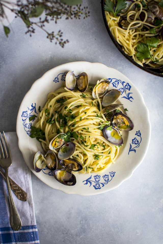 Spaghetti alle vongole | DonalSkehan.com, An Italian classic.