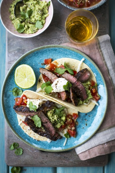 15 Minute Steak Tacos