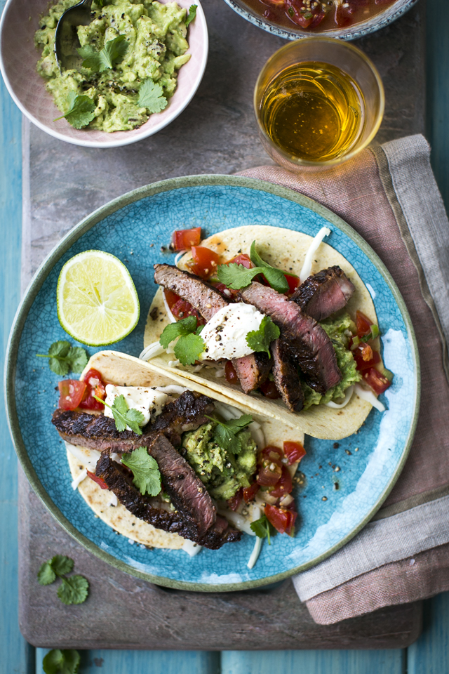 15 Minute Steak Tacos | DonalSkehan.com, Tacos are huge in LA and have to be one of my favourite foods!