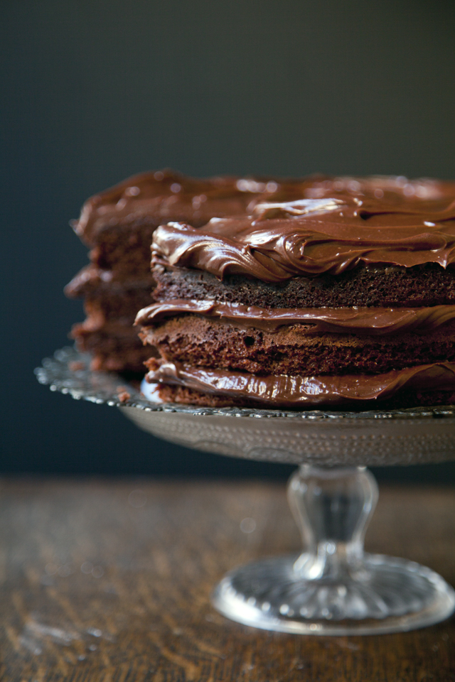 Swedish Chocolate Dream Cake | DonalSkehan.com, A rich gooey cake which is incredibly easy to make!