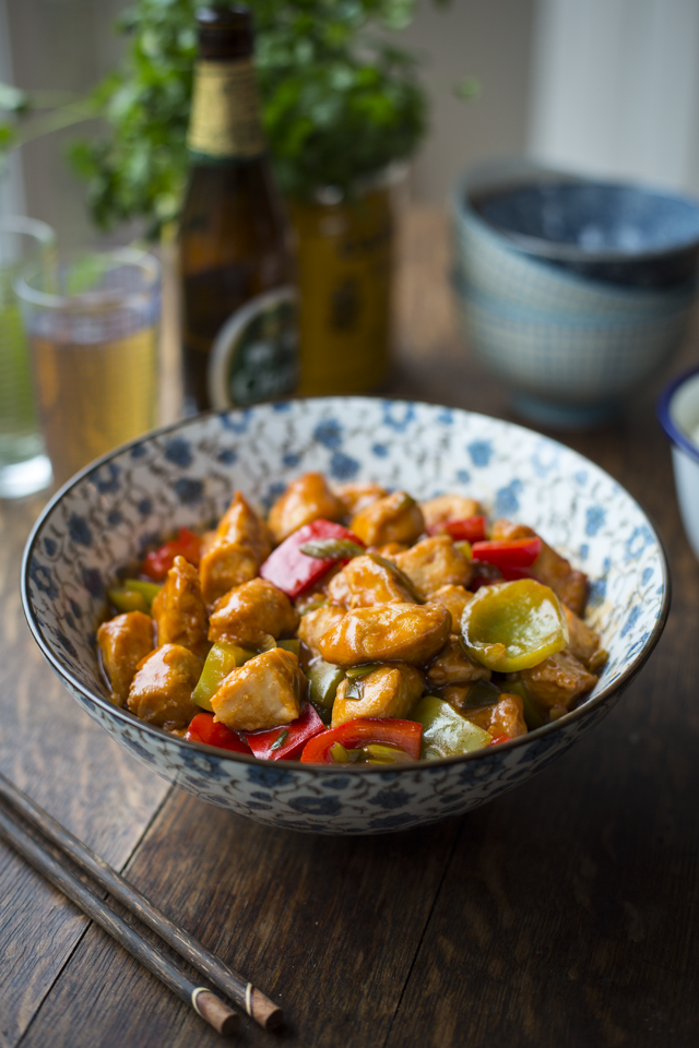Sweet & Sour Chicken   DonalSkehan.com, My take on the Chinese takeaway favourite.