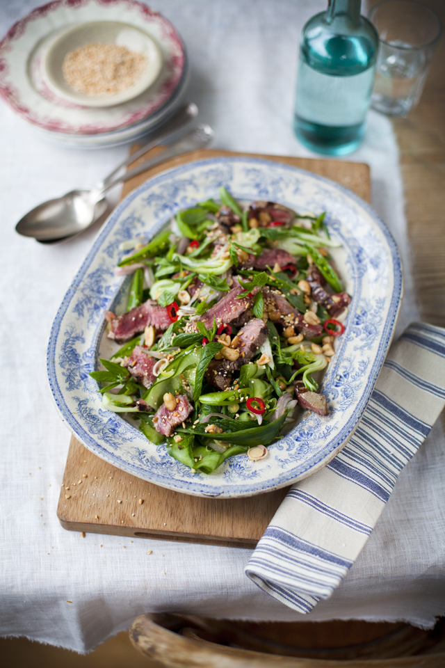 Donal skehan 10 healthy eating recipes thai beef salad forumfinder Choice Image